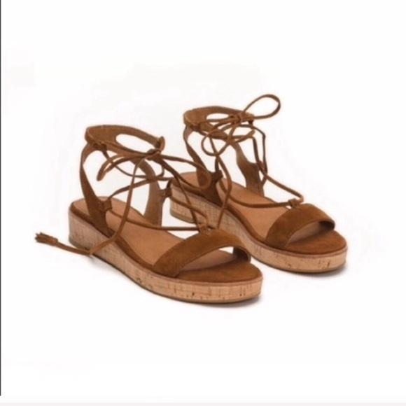 14f96675f4 Frye Shoes | Miranda Gladiator Tie Up Sandals | Poshmark